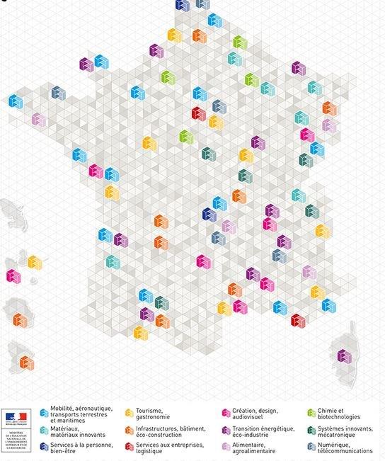 Carte des CMQ en France